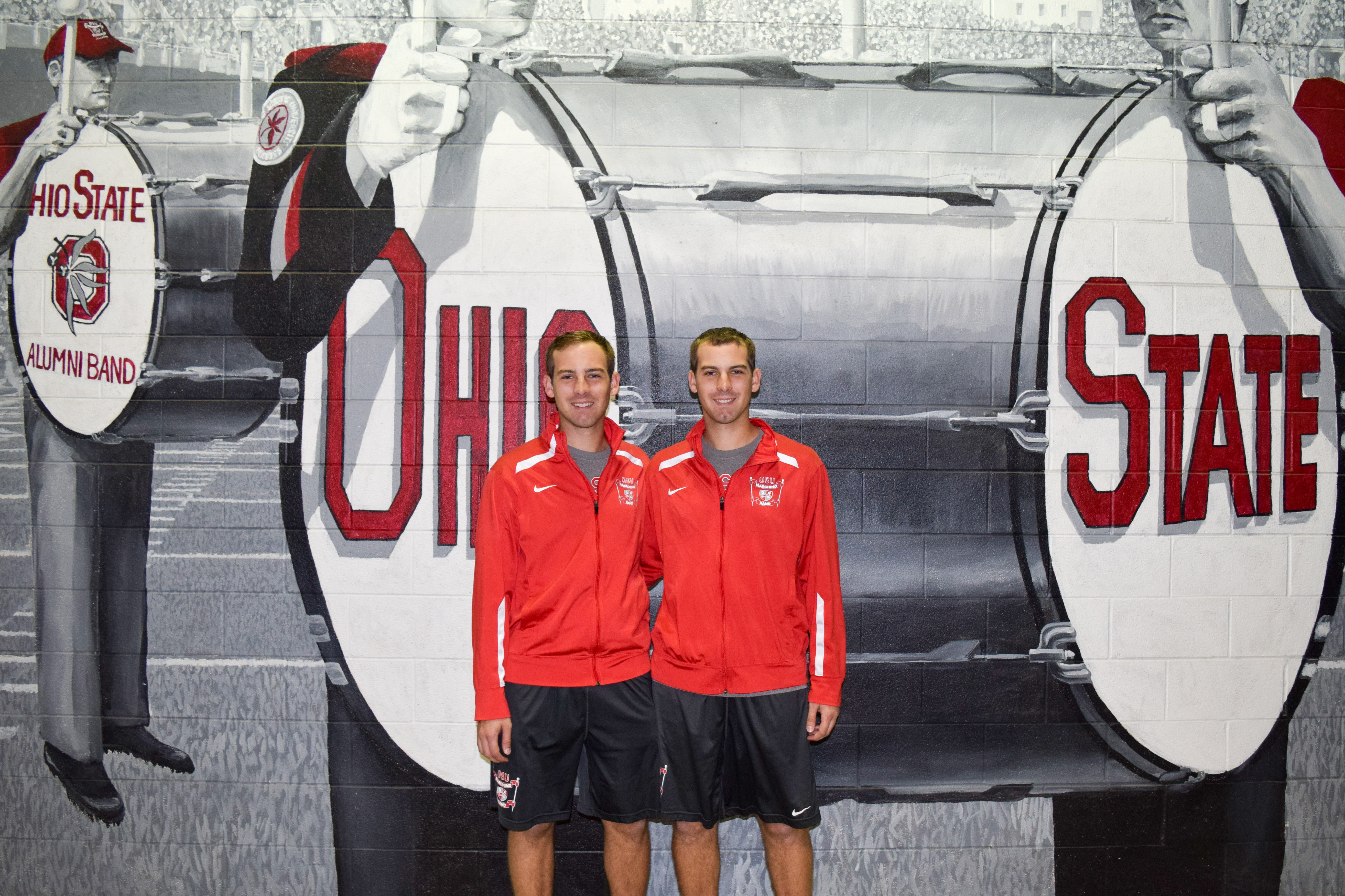photo of twin brothers Kyle and Ryan Kuebler