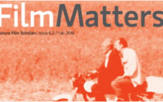 Film Matters journal cover