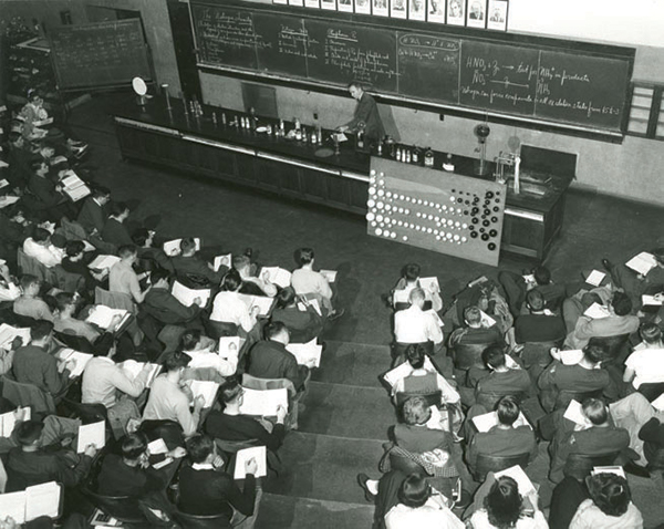 1953 Chemistry lecture