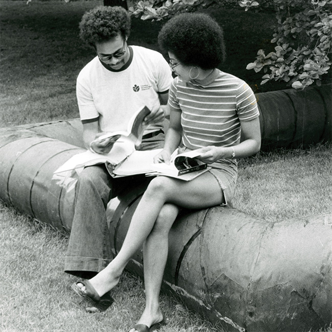1974 AAAS at Ohio State. Photo courtesy of The Ohio State University Archives