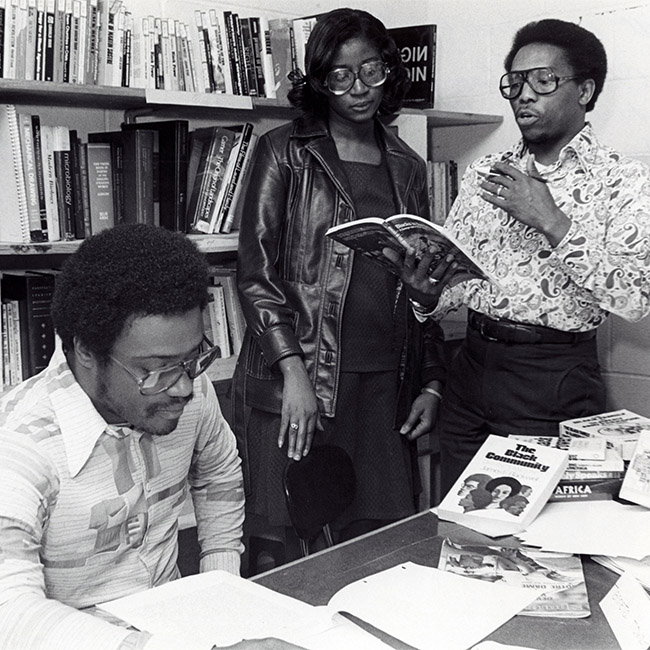 1979-89 AAAS at Ohio State. Photo courtesy of The Ohio State University Archives