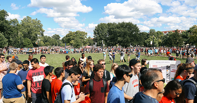 2016 Student Involvement Fair