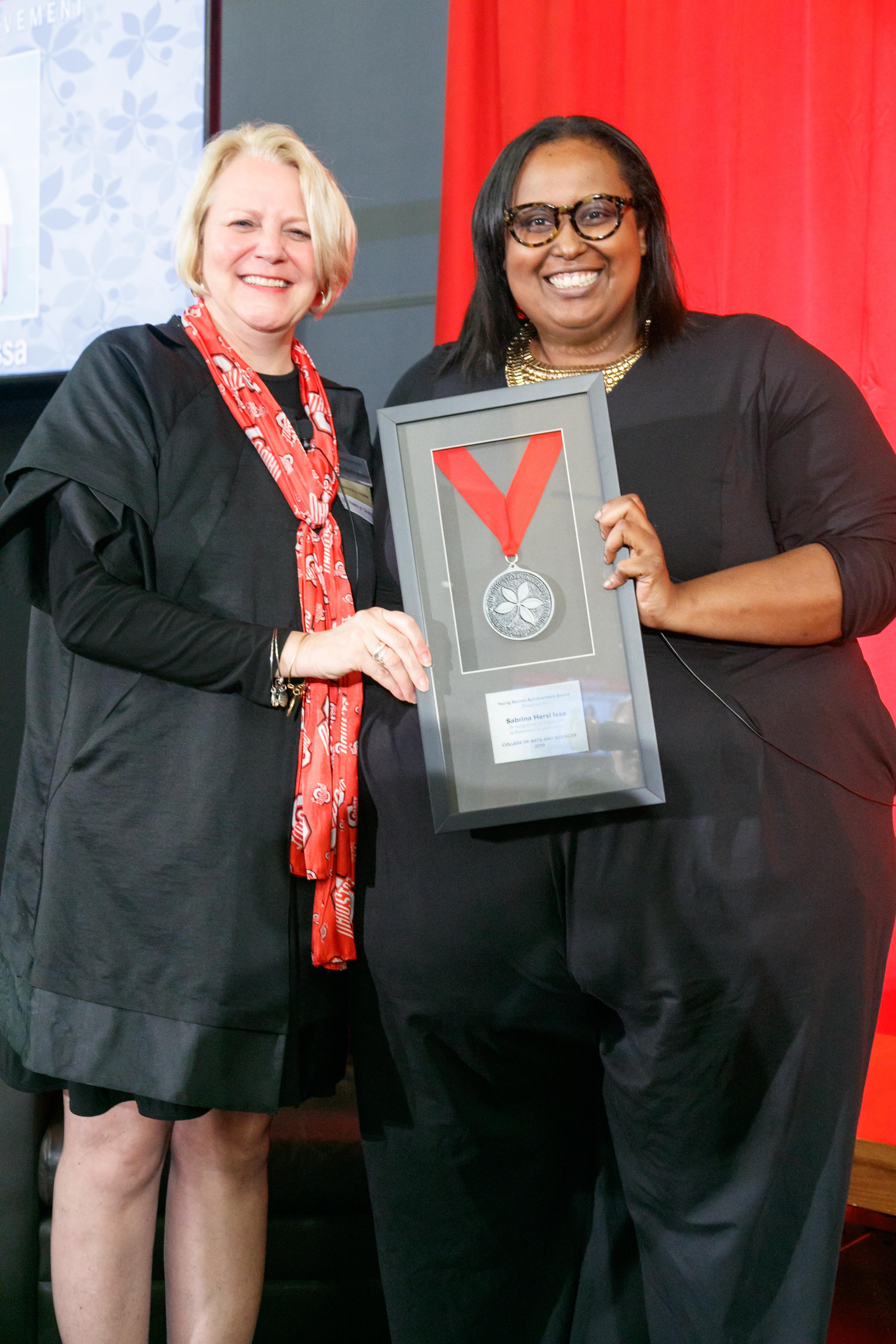 Sabrina Hersi Issa   Young Alumni Achievement Award