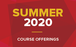 Summer 2020 Course Offerings