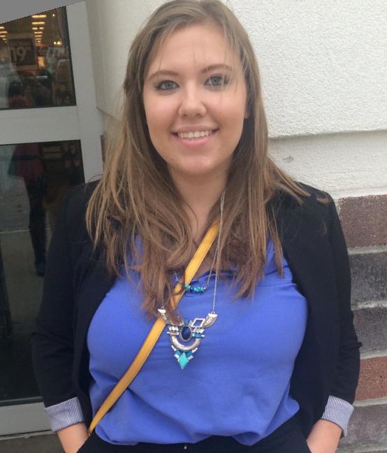 Ashley Meece, a second-year political science major