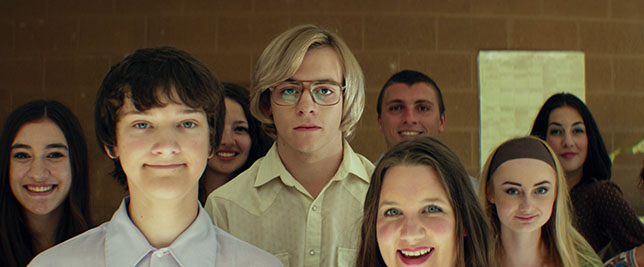 "Cast of the 2017 movie ""My Friend Dahmer."" Image courtesy FilmRise"
