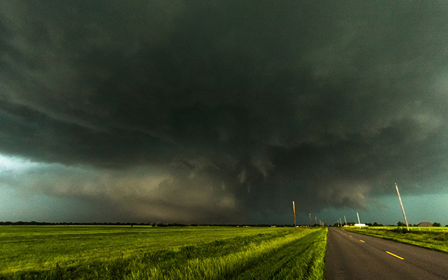 On May 31, 2013, a 2.6 mile-wide tornado careened across the landscape near El Reno, Oklahoma.