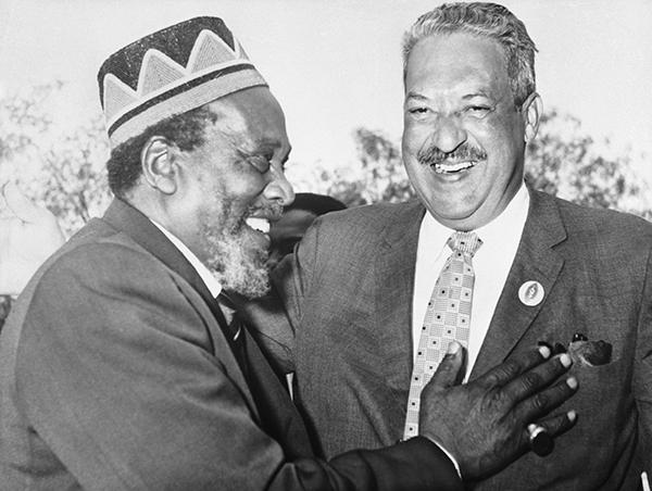 Thurgood Marshall Jomo Kenyatta