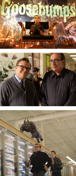 Goosebumps Movie Still, courtesy Sony Pictures