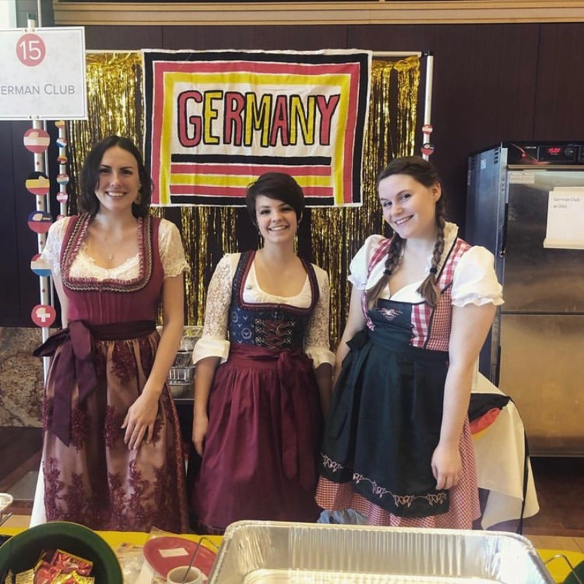 German Club at Taste of OSU