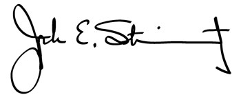 Joe Steinmetz signature.