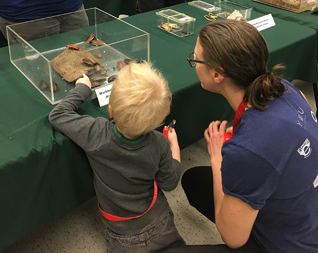 Museum of Biological Diversity Open House 2018