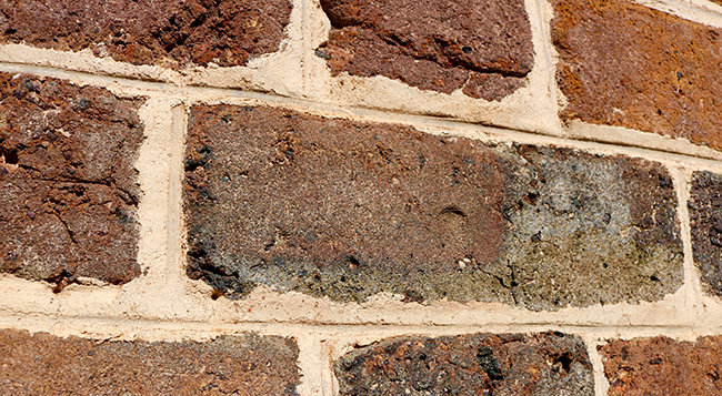 A brick with an enslaved child's fingerprint in it that forms the foundation of James Madison's Montpelier.