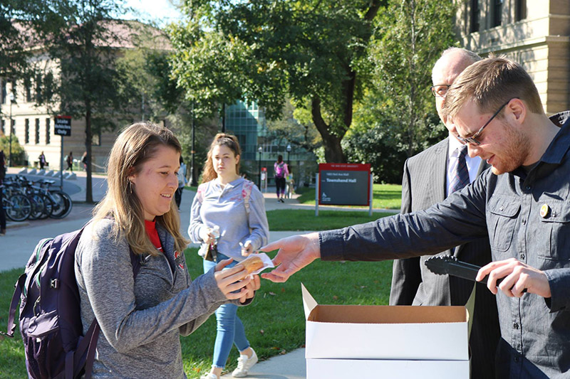 Donuts with the Dean, Oct. 2016