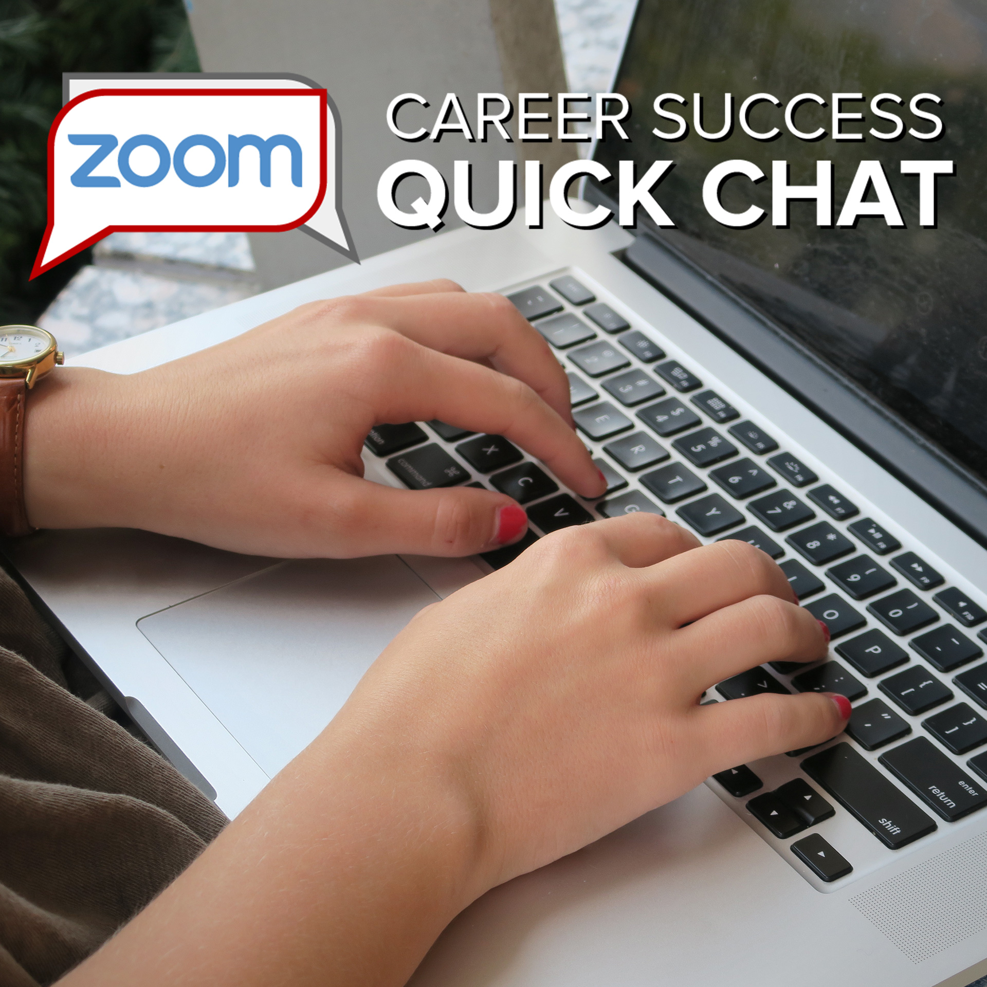 Student using Career Success Quick Chat