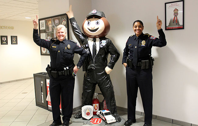 OSUPD Chief Kimberly Spears-McNatt and Deputy Chief Tracy Hahn