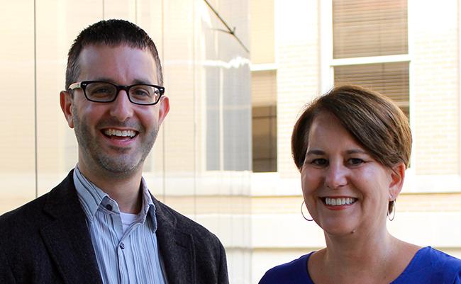 Isaac Weiner and Amy DeRogatis