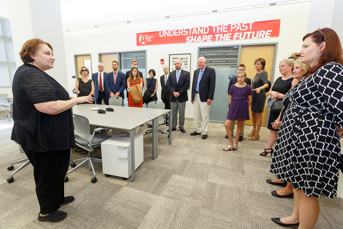Sullivant Hall Grand Opening | Arts Administration, Education and Policy