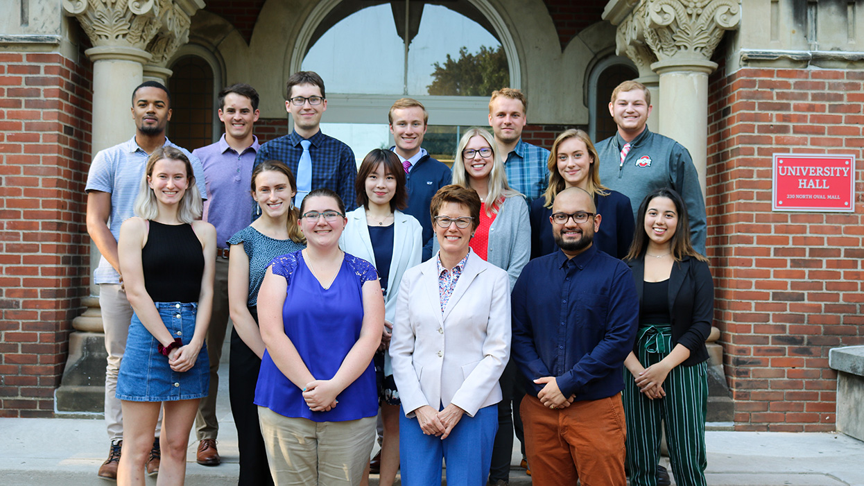 Dean's Advisory board members, for the 2019–2020 year