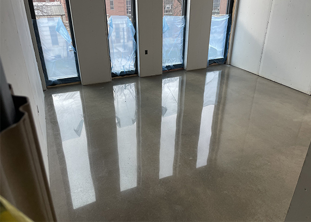 New floor at the Arts District