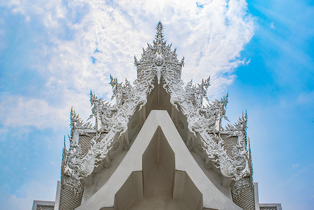 White Temple by Amanda Miller