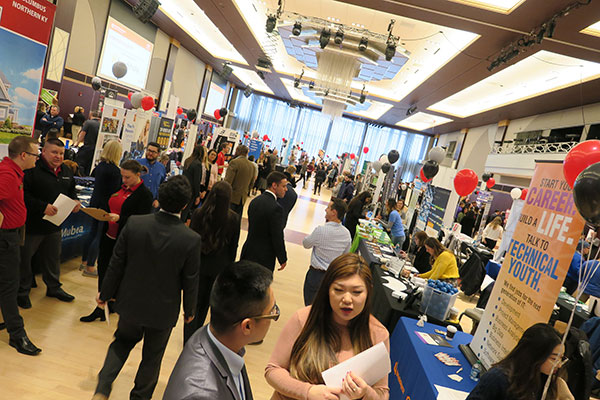 2019 Spring Career Fair - Floor level
