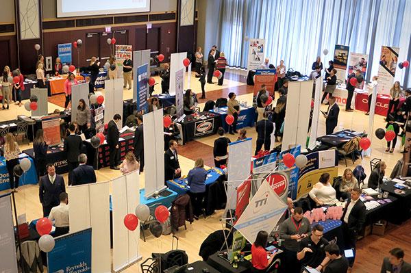 2019 Spring Career Fair - Overhead