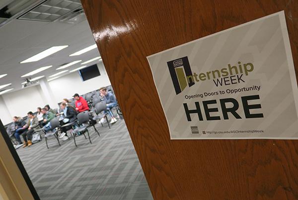 Internship Week event