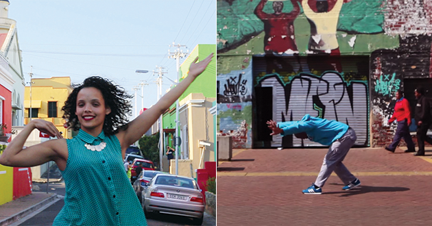 Performers from around the world dance in viral video.