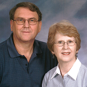 Mike and Cindy Morgan.