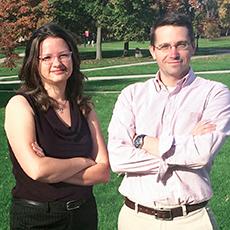 Ann Cook and Derek Sawyer