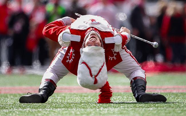photo of Konner Barr performing back bend