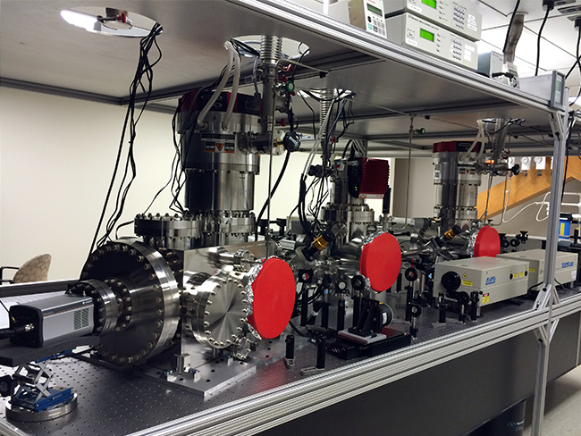 An extreme ultraviolet spectrometer at Celeste Laboratory