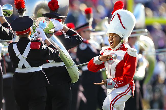 photo of Morgan Davis at Rose Bowl