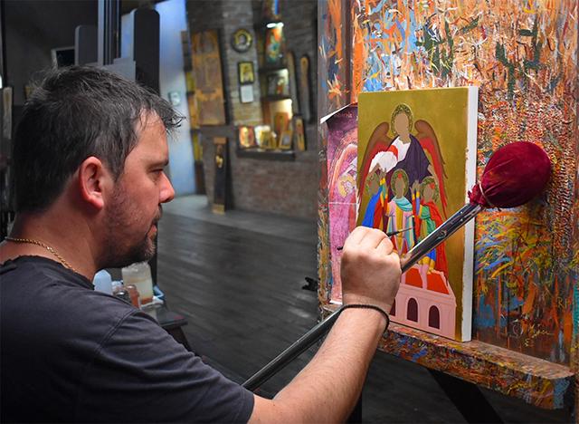 The Orthodox Vision by Eleni Volas