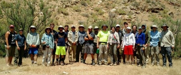 Students attend Field Camp 2017