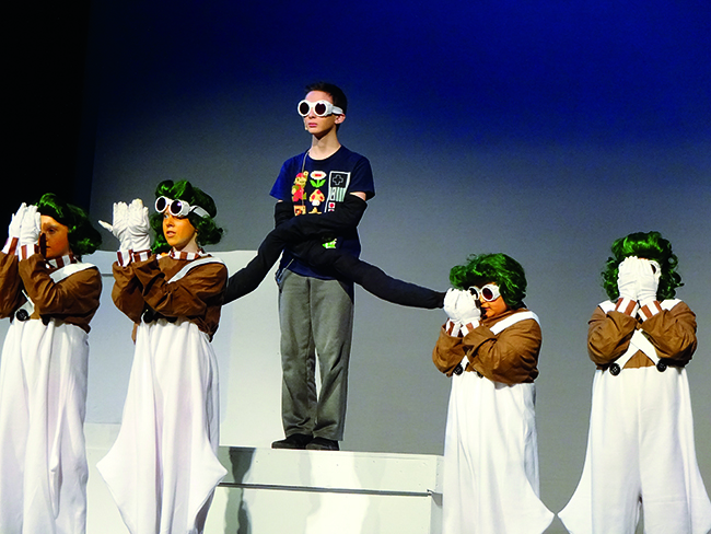 "Students helped the Portsmouth Area Arts Council on its production of ""Willy Wonka Jr."" The council is a vital resource for Portsmouth, where economic neglect and precarity limits artistic opportunities for kids."