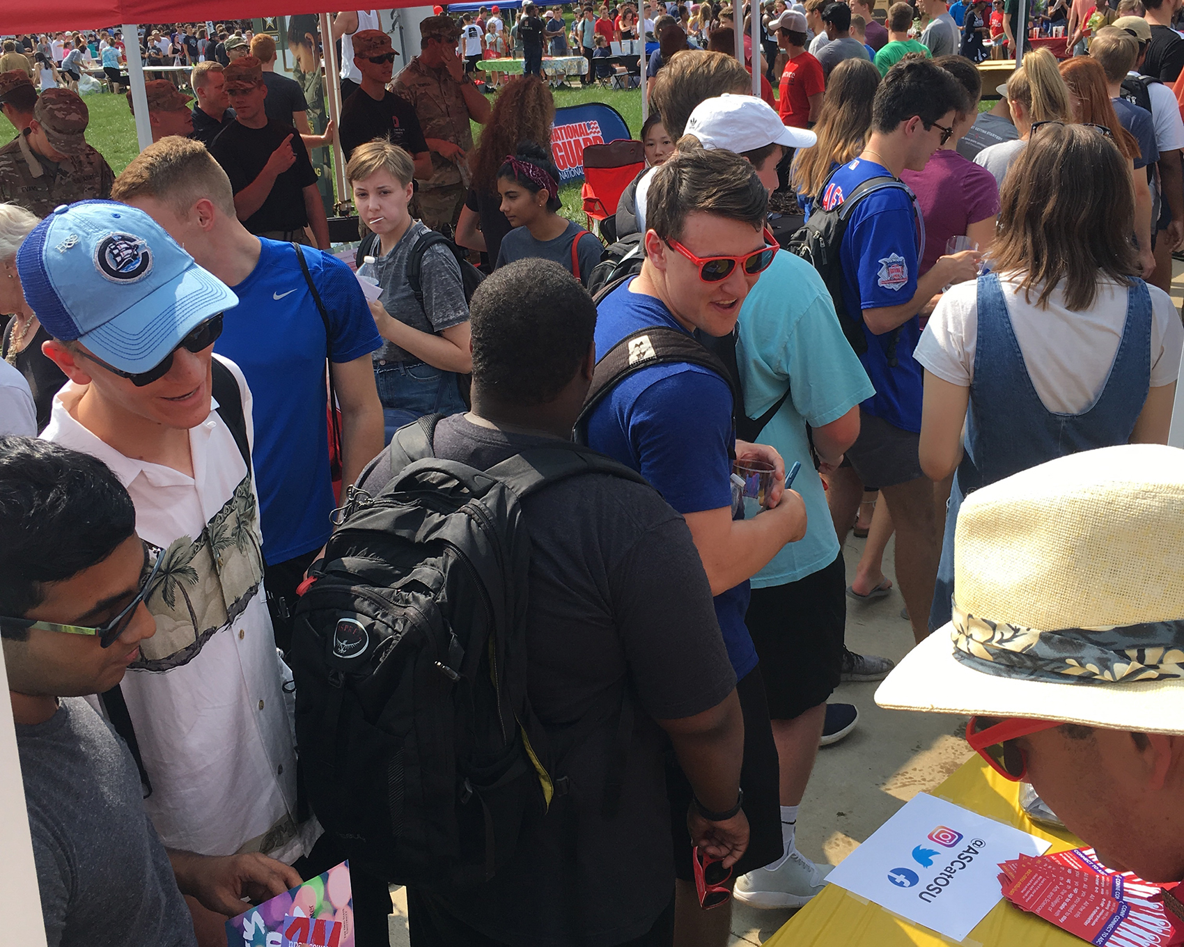 Student Involvement Fair 2018
