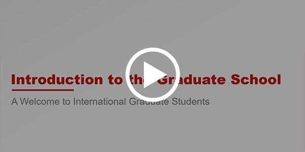 Graduate School Intro Video