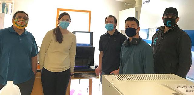 Masked NBDC researchers