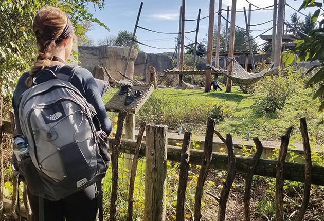 at the Columbus Zoo