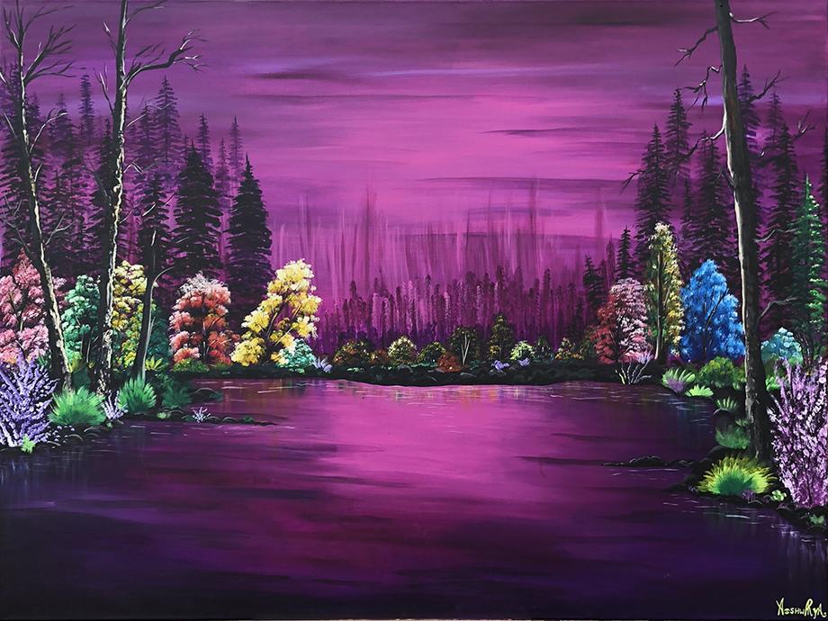 Aishwarya Patel: Purply Purple