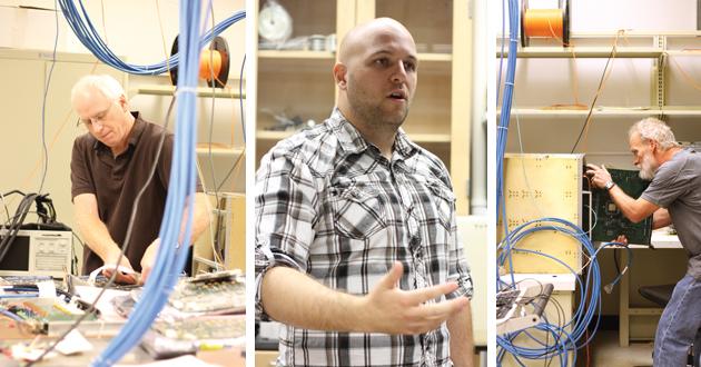 Durkin's lab.