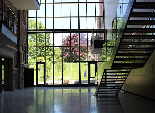 Pomerene Hall Atrium