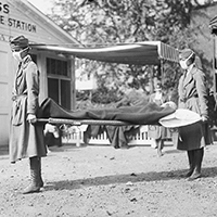 Medical personnel 1918 pandemic
