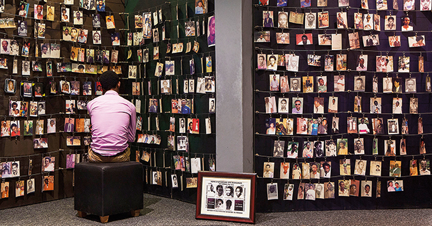 Photo courtesy of the Kigali Genocide Memorial.