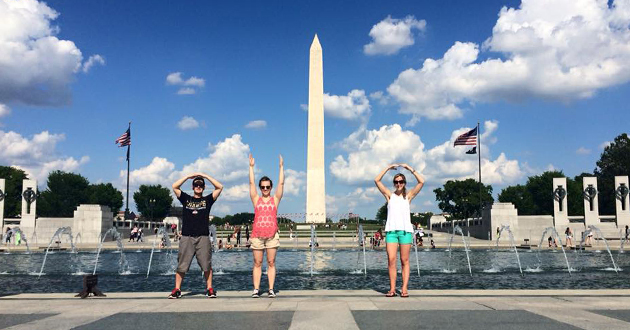 Ohio State SAA in Washington D.C.