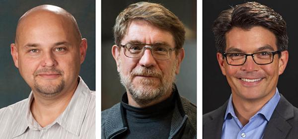 From left: Kris Stanek, Chris Kochanek, Todd Thompson