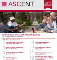 ASCENT Issue 1 2010 Cover