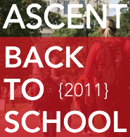 ASCENT Back to School 2011 Cover